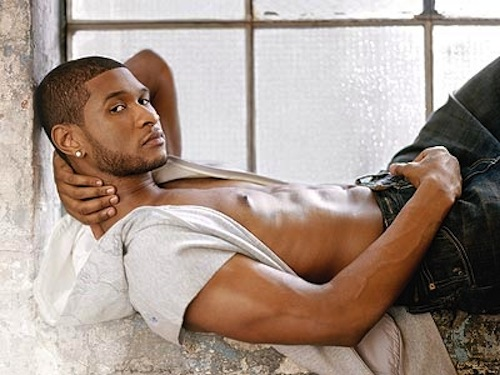 "pics of usher shirtless. Usher's latest music video for his latest R&B single ""There Goes My Baby"""