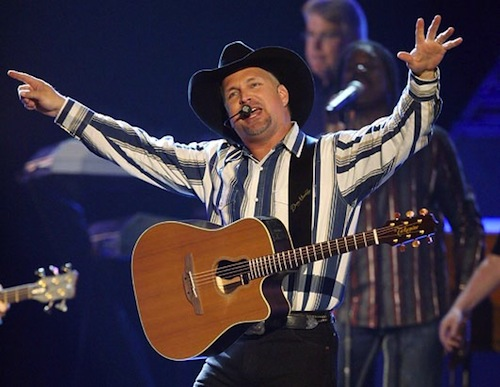 Garth Brooks Heavy Sweating