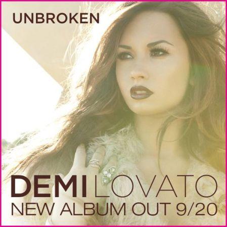 Demi Lovato 2011 Album on Demi Lovato Unbroken Album Cover